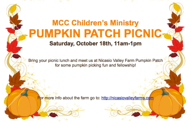 childrens pumpkin patch