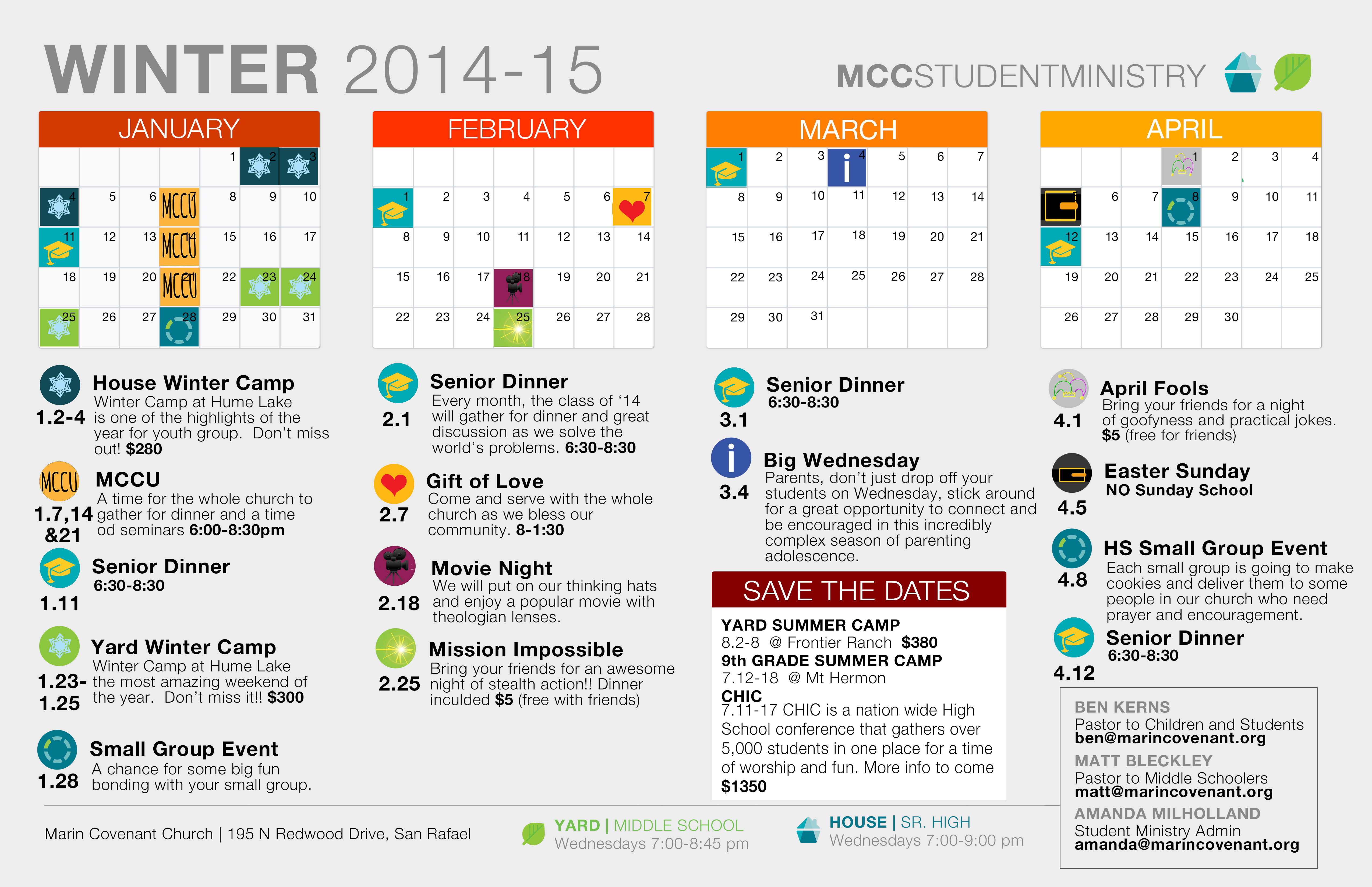 youth group calendar template - marin covenant church
